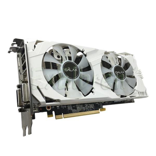 GALAX GeForce® GTX 1050 Ti EXOC White 4GB