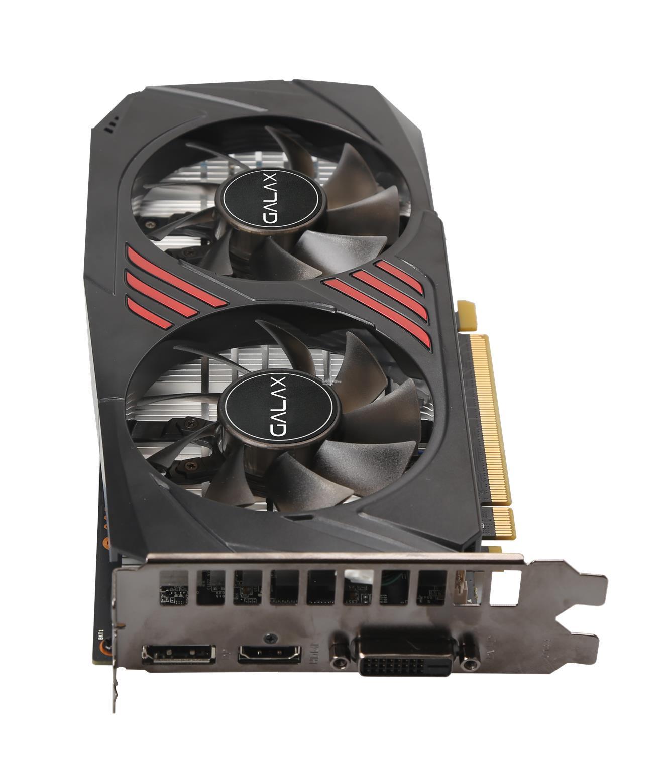 # GALAX GeForce® GTX 1060 OC 6GB Red Black Ed  # 6GB/GDDR5X | 1733MHz