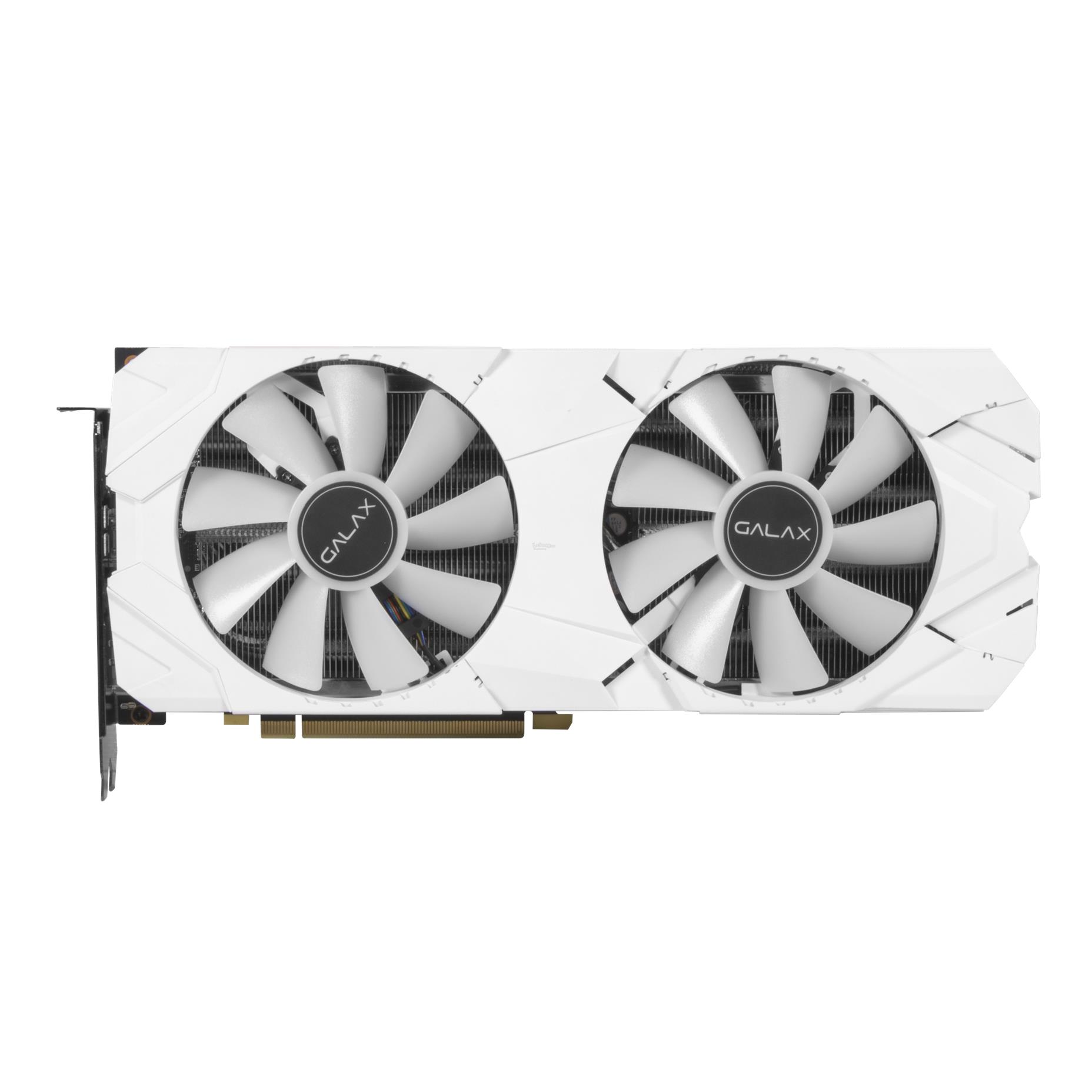 # GALAX GeForce RTX 2070 White (1-Click OC) # 8GB/GDDR6 | 1620MHz