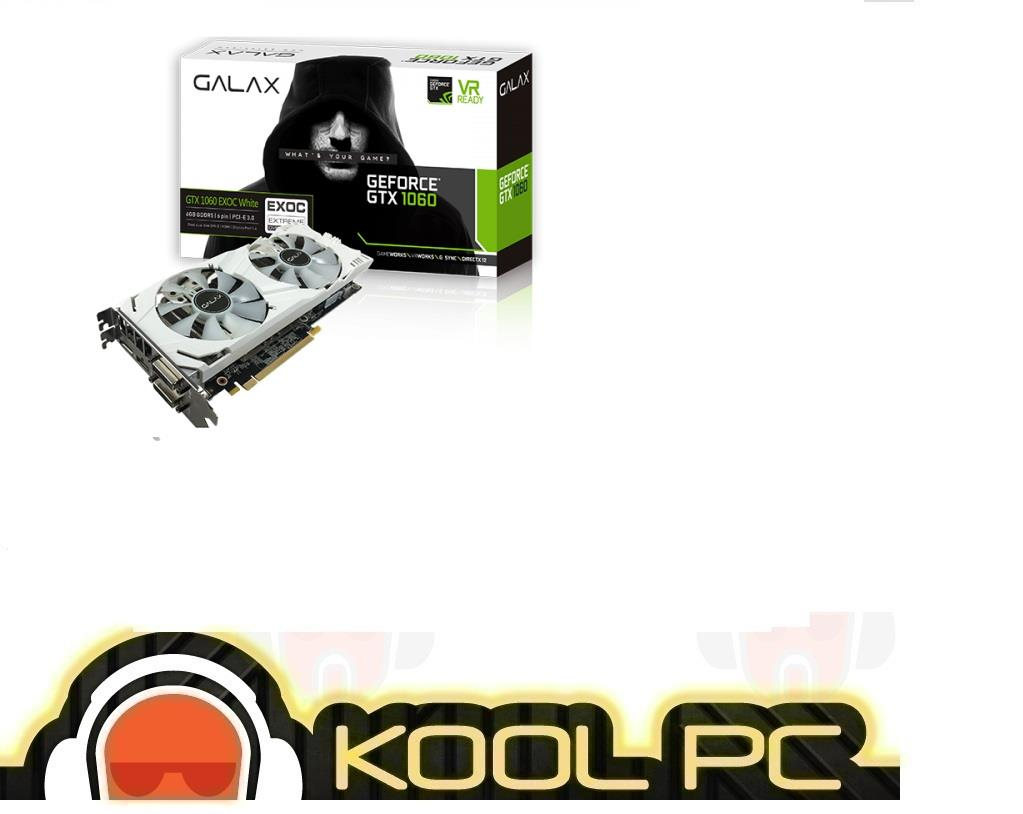 # GALAX GTX1060 EX OC White 6GB DDR5 (60NRH7DVM3WE) | GTX 1060