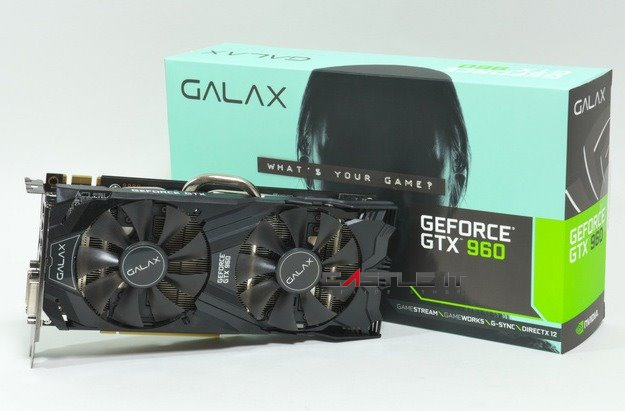 Image result for Galax GTX 960 EXOC 2GB DDR5