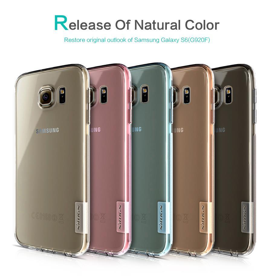 watch 5686d 43e85 Galaxy A3 A5 A7 A8 S6 S7 Edge Note 4 5 8 Nillkin Nature TPU Case Cover