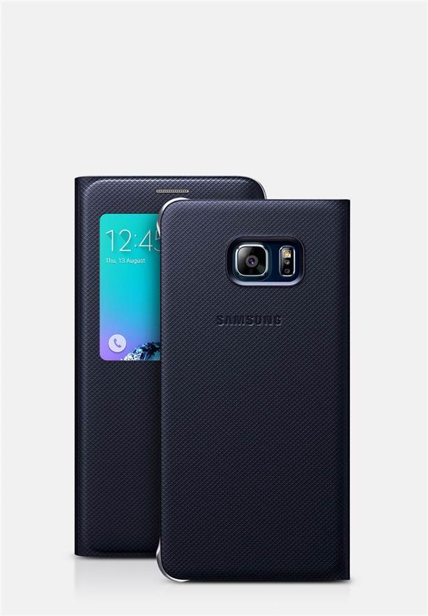 brand new 062e6 350e4 Galaxy S6 S6 Edge Plus S View Flip Cover Case Sleep Mode Function
