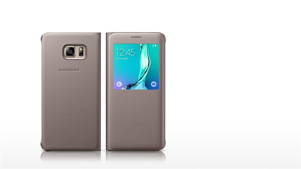 brand new a606a 8f2e1 Galaxy S6 S6 Edge Plus S View Flip Cover Case Sleep Mode Function