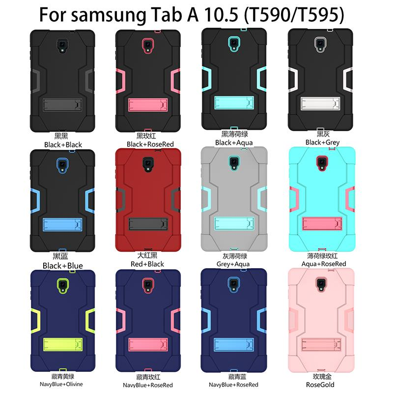 GalaxyTab A 10.5 T590 T595 Armor Kid Full Case Casing Cover +SP