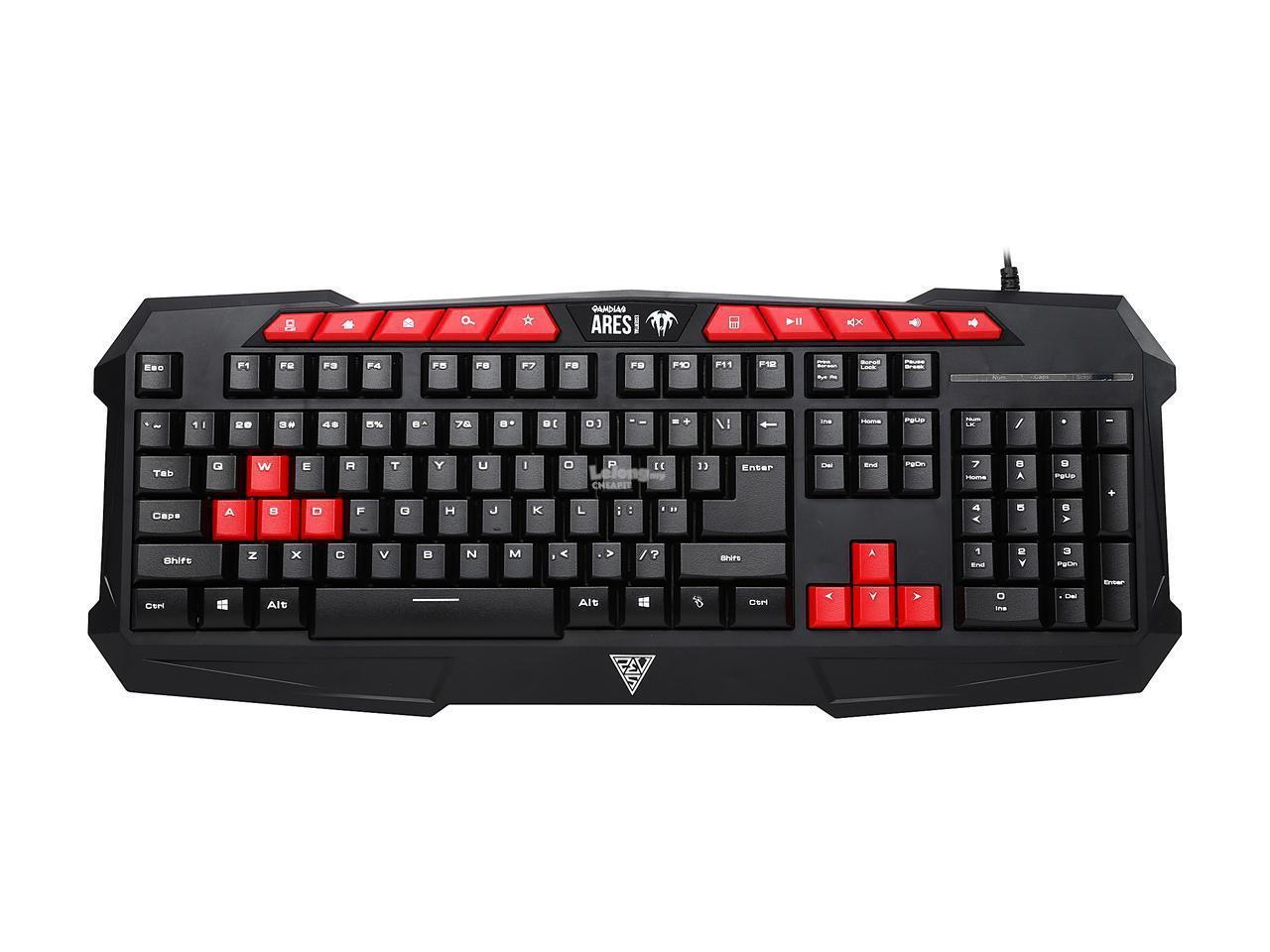 GAMDIAS Ares Essential V2 Combo Membrane Keyboard and Mouse | GKC100