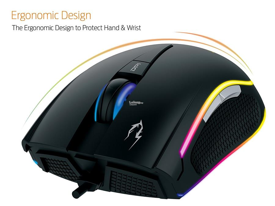 Gamdias ZEUS M1 RGB Optical Gaming mouse | 7000DPI | ZEUS M1