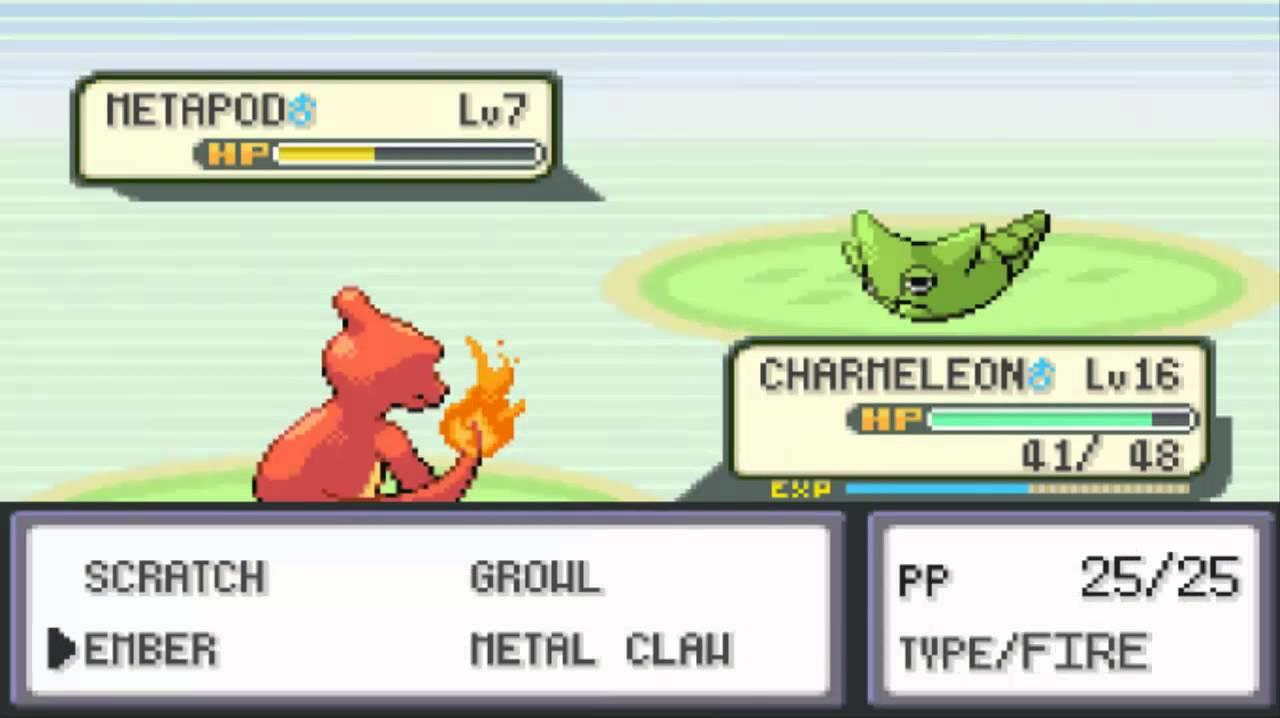 how to get pokemon fire red