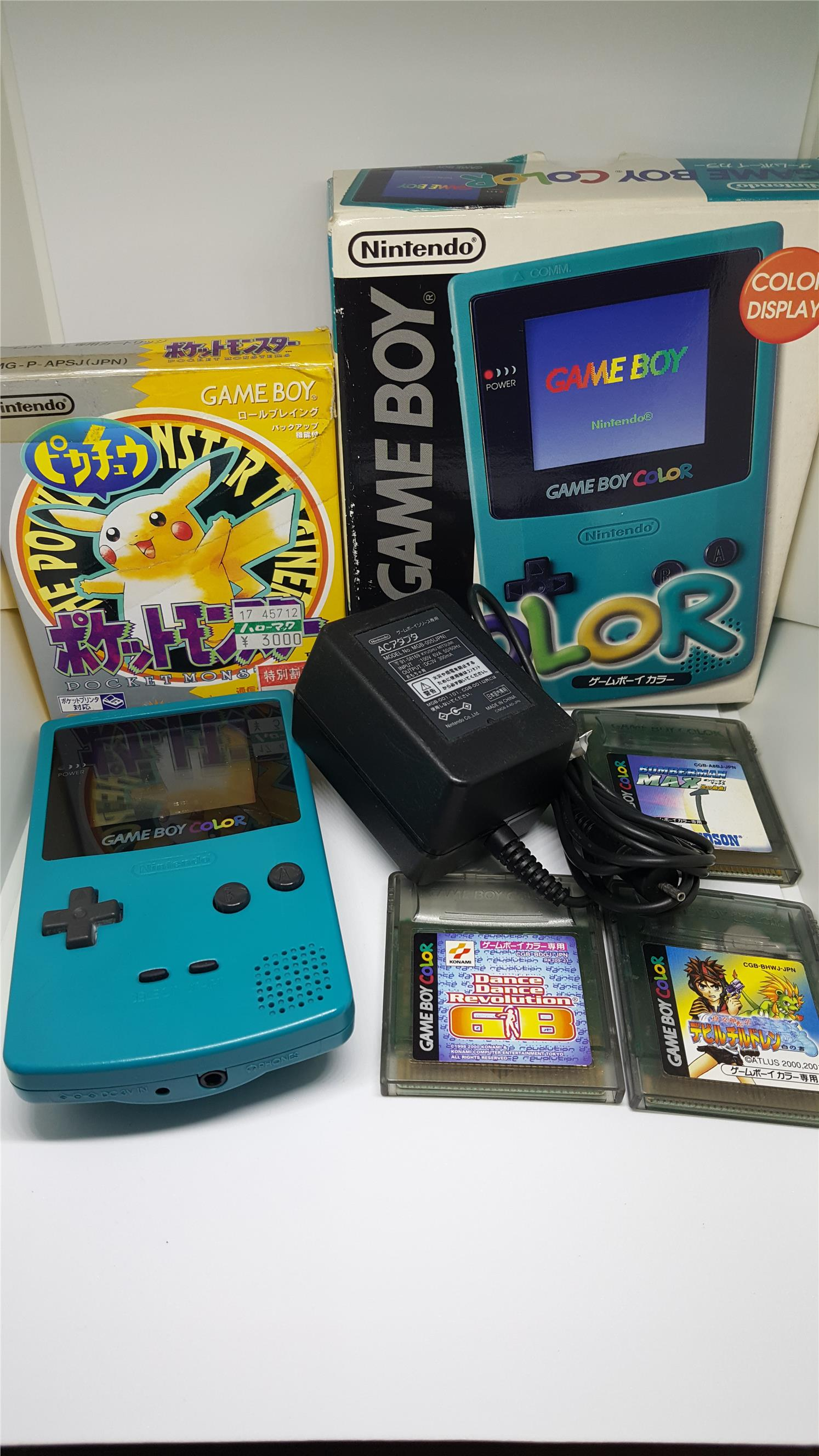 Pokemon games for gameboy color - Gameboy Color Package B Free Pokemon
