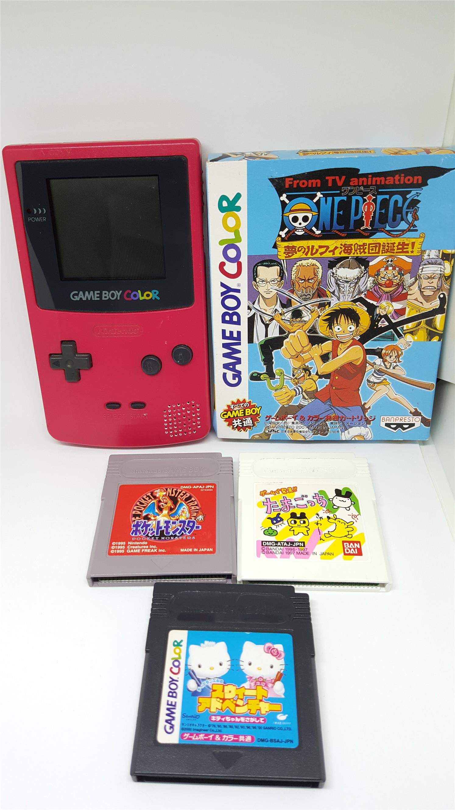 Game boy color japan - Gameboy Color Package D Free Pokemon