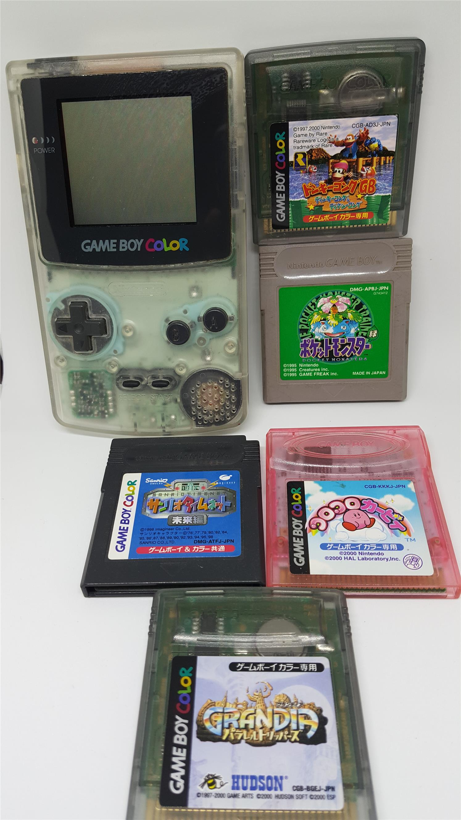 Game boy color japan - Gameboy Color Package E Free Pokemon