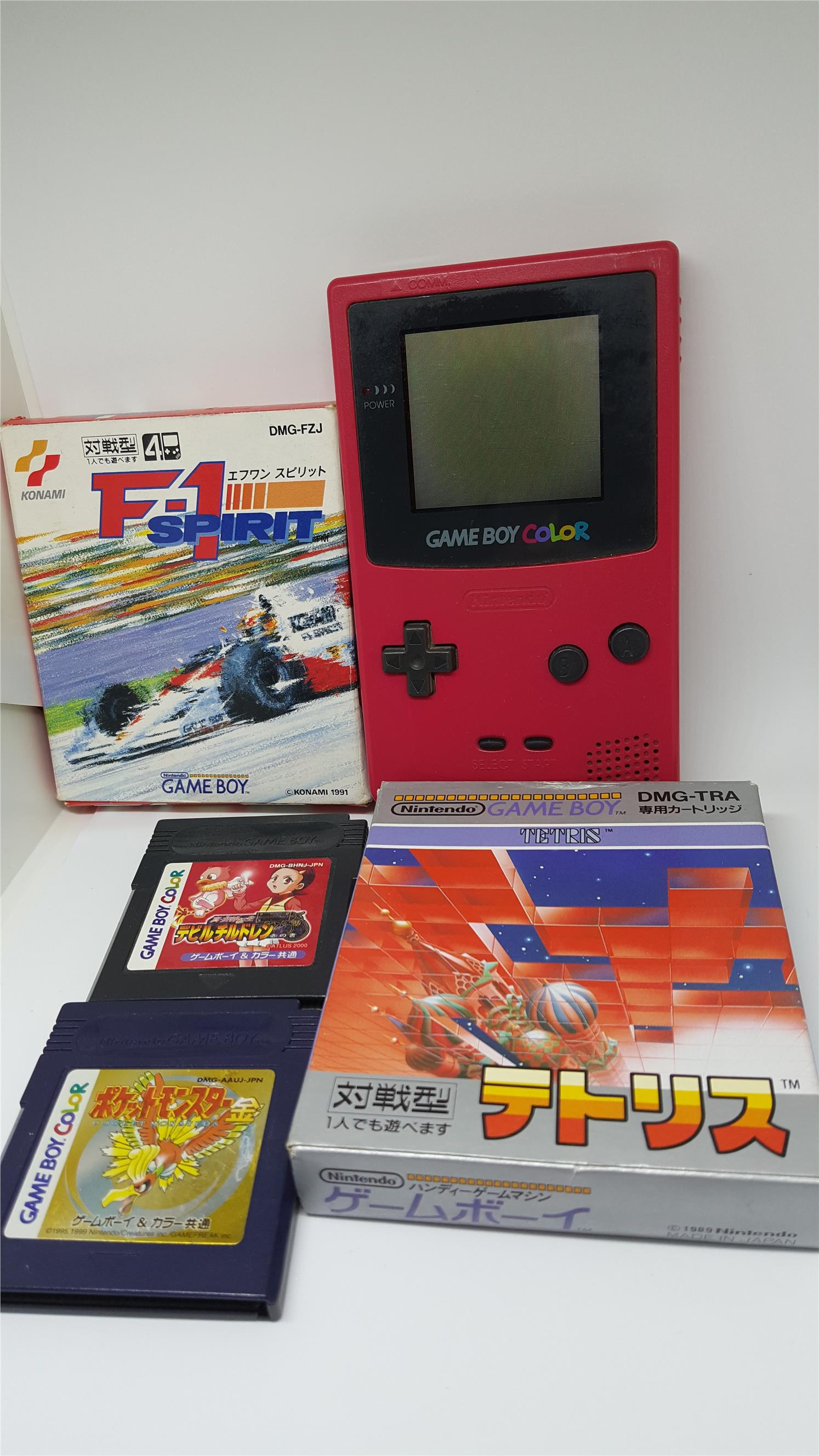 Pokemon games for gameboy color - Gameboy Color Package G Free Pokemon
