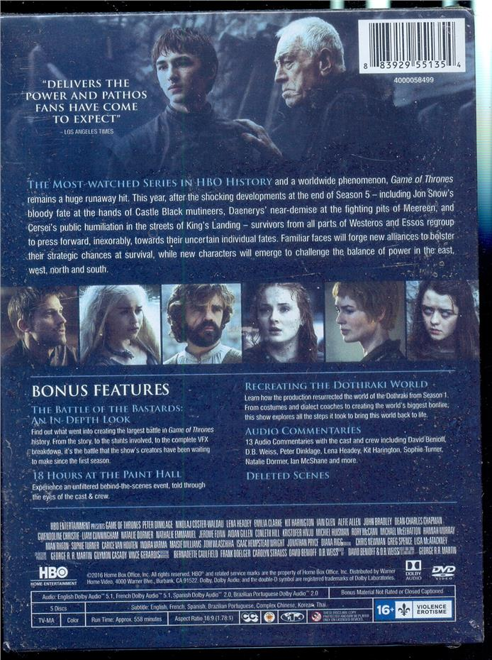 Games Of Thrones The Complete Sixt End 462017 1115 Am
