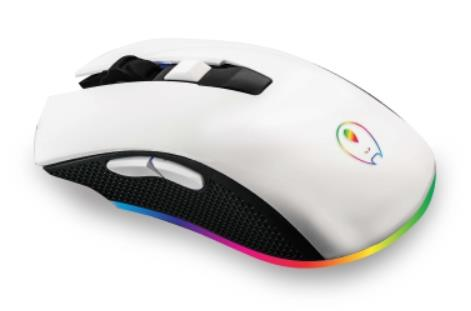 Gaming Freak RR7 Snow RGB Gaming Mouse - White (GFM-RR7SNOW)