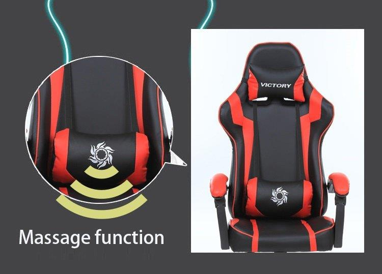 Gaming Racing Swivel Office Ergonomic Chairs RED