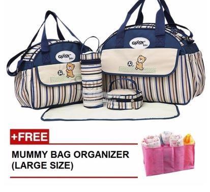 GANEN 6 Pcs Set Mummy Fashion Tote (end 5 27 2019 10 15 PM) bf0c22650d917