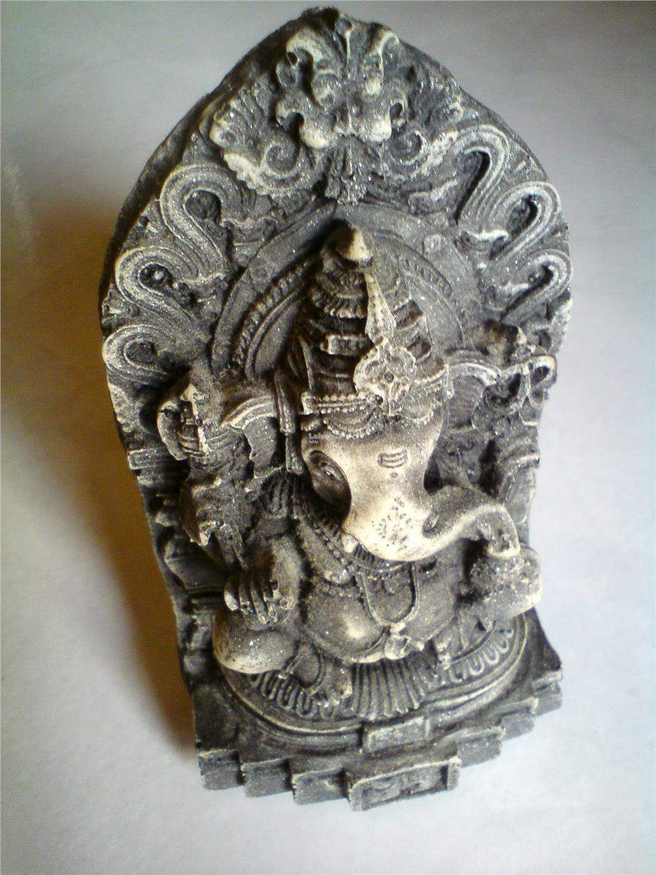 Ganesh Statue Idol Elephant God Marble Stone Sculpture: Best Price in  Malaysia