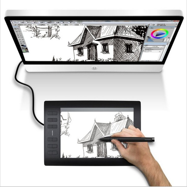 Gaomon 1060 Pro Drawing Tablet for Drawing Graphic Tablet OSU USB