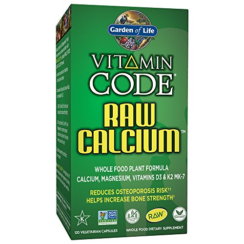 Garden of Life Raw Calcium Supplement - Vitamin Code Whole Food Calcium Vitami. ‹ ›