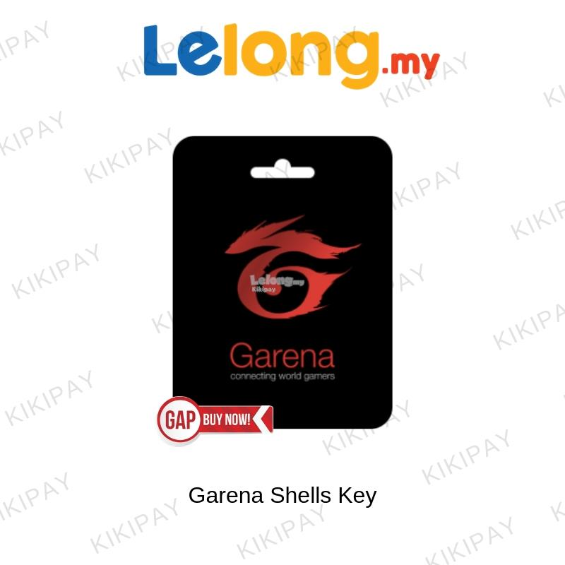 Garena Shells Code (MYR) Get It Digital Code 100 Shells - 1000 Shells