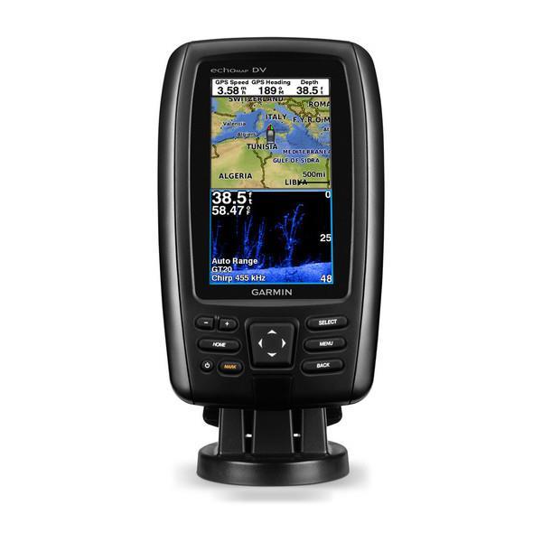 Garmin EchoMAP Chirp 45cv Marine GPS Chartplotter With ClearVu Sonar