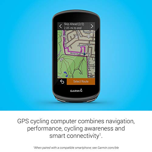 Garmin Edge 1030 Plus, GPS Cycling/Bike Computer, On-Device Workout Suggestion