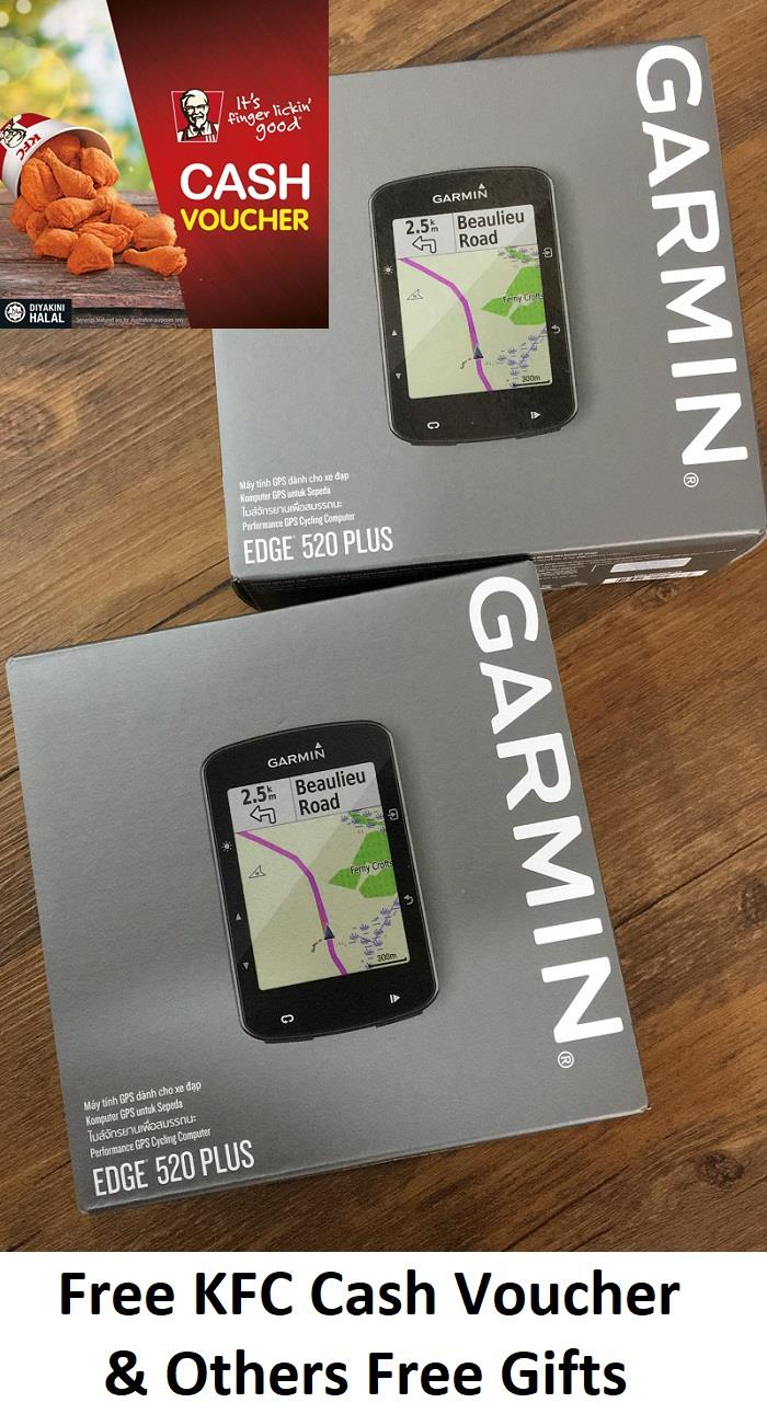 Garmin Edge 520 Plus Free Rm50 Kfc V End 12 1 2019 515 Pm Voucher Others Gifts