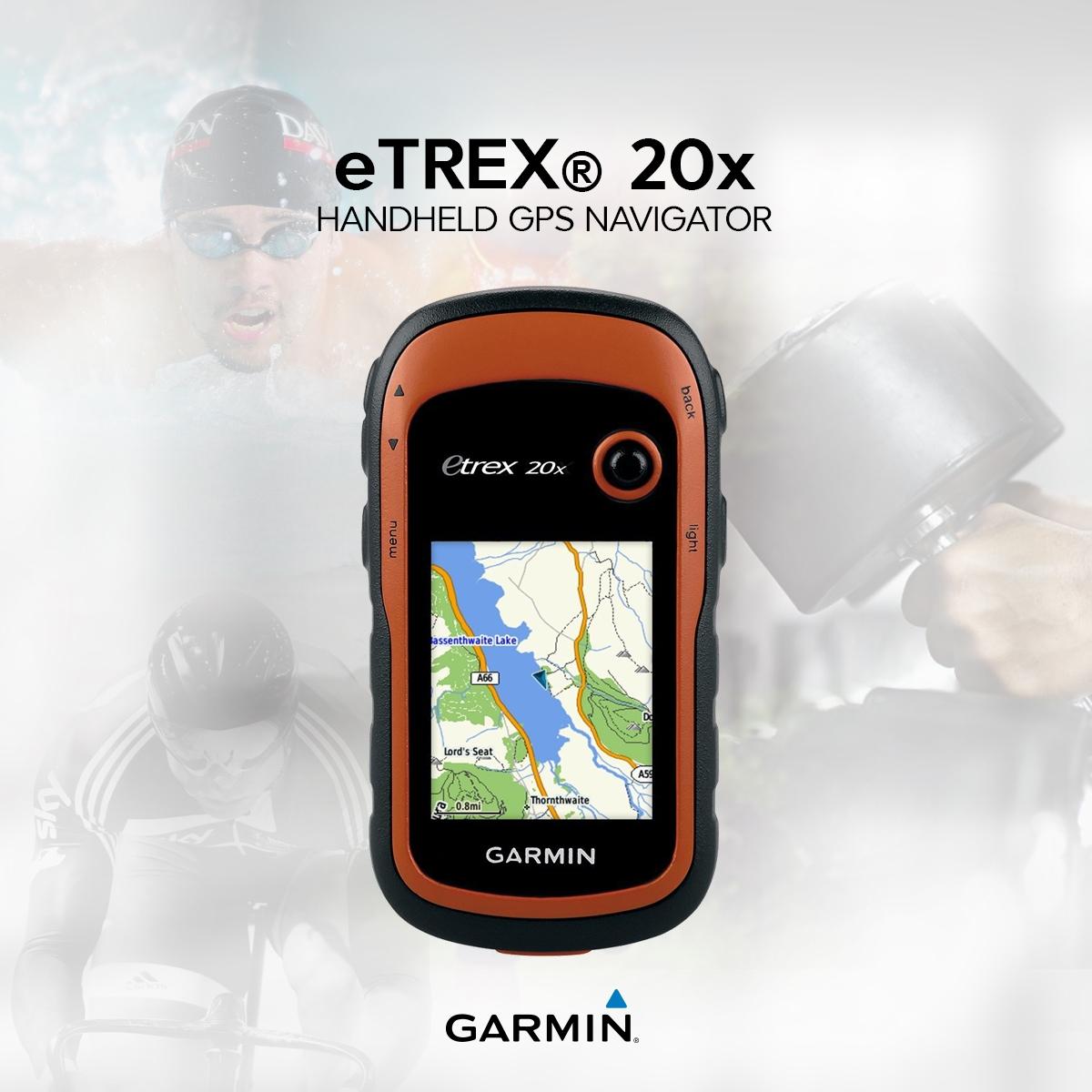 Garmin etrex 20x how to use