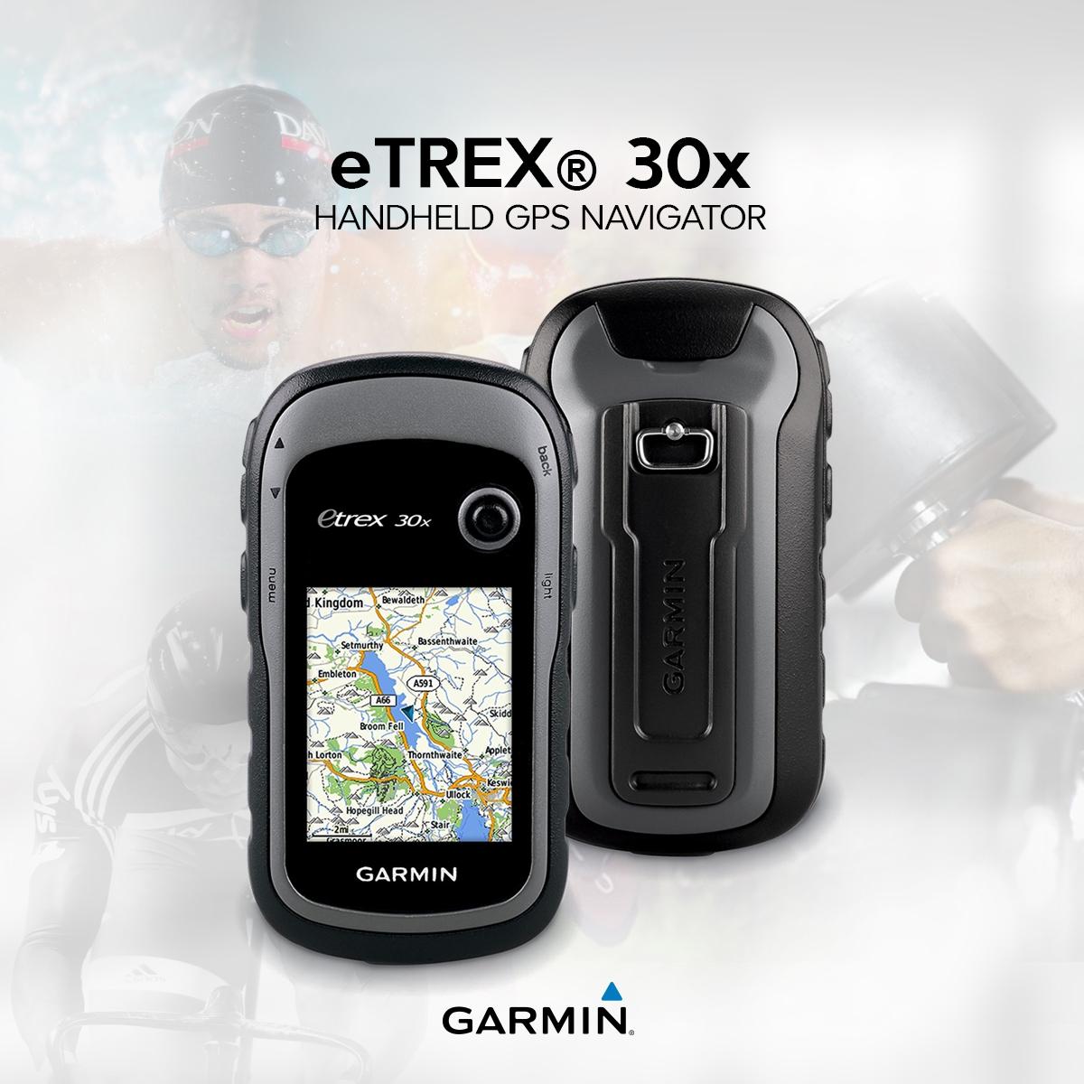 Garmin eTrex ® 30x Handheld GPS Navigator (010-01508-10)