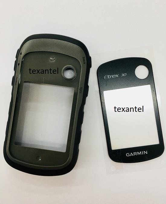 Garmin eTrex 30/30X Replacement Front Case with Rubber Buttons