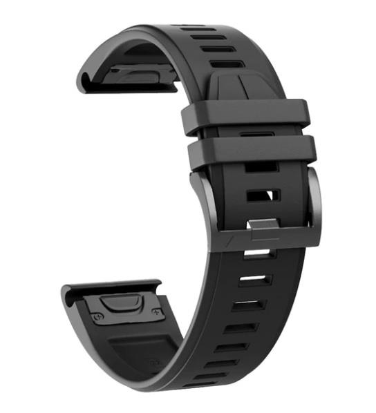 Garmin Fenix 5 & 5X Plus - Black QuickFit OEM GPS Watch Band/Strap