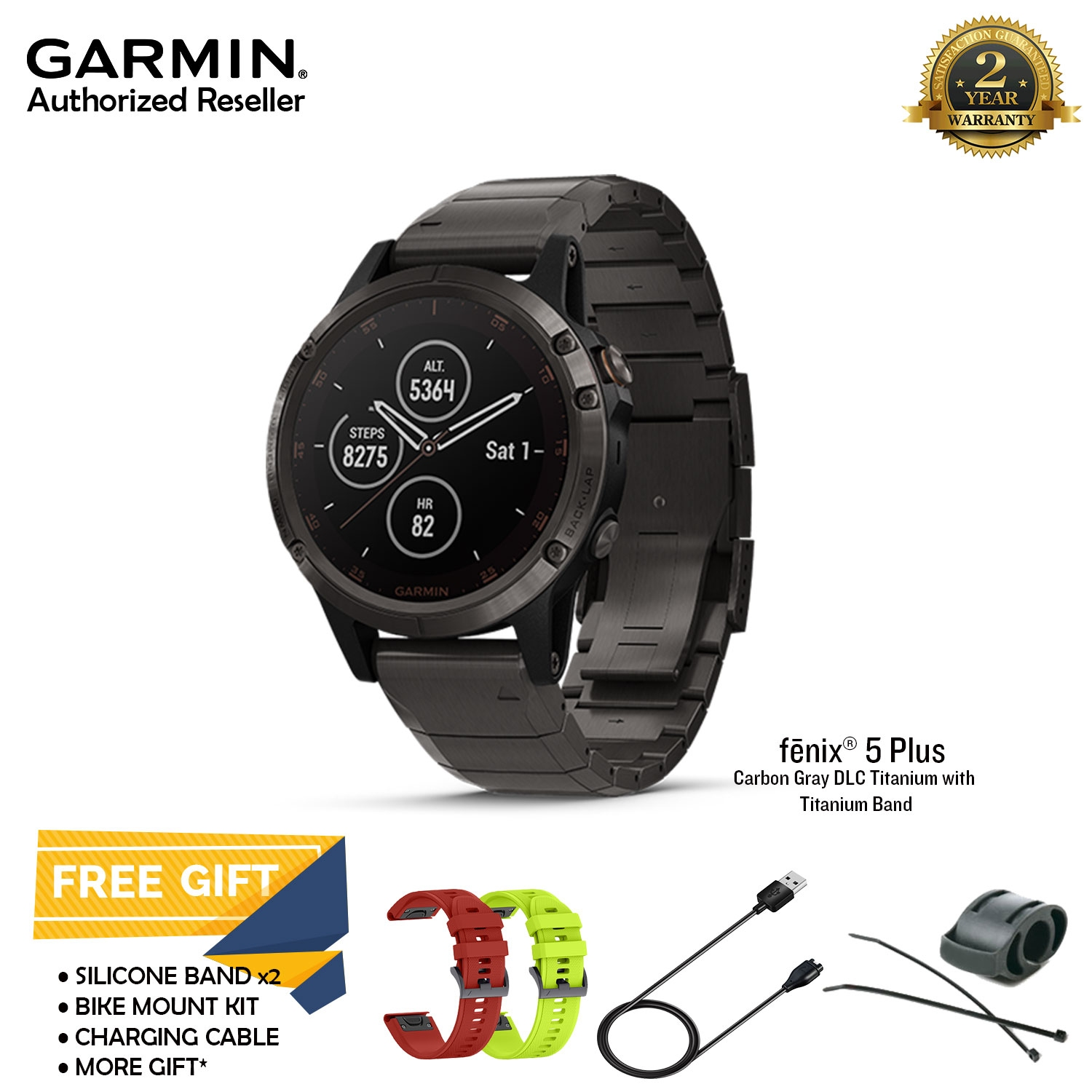 Garmin Fenix 5 Plus Gray Dlc Titan End 12 15 2020 12 00 Am