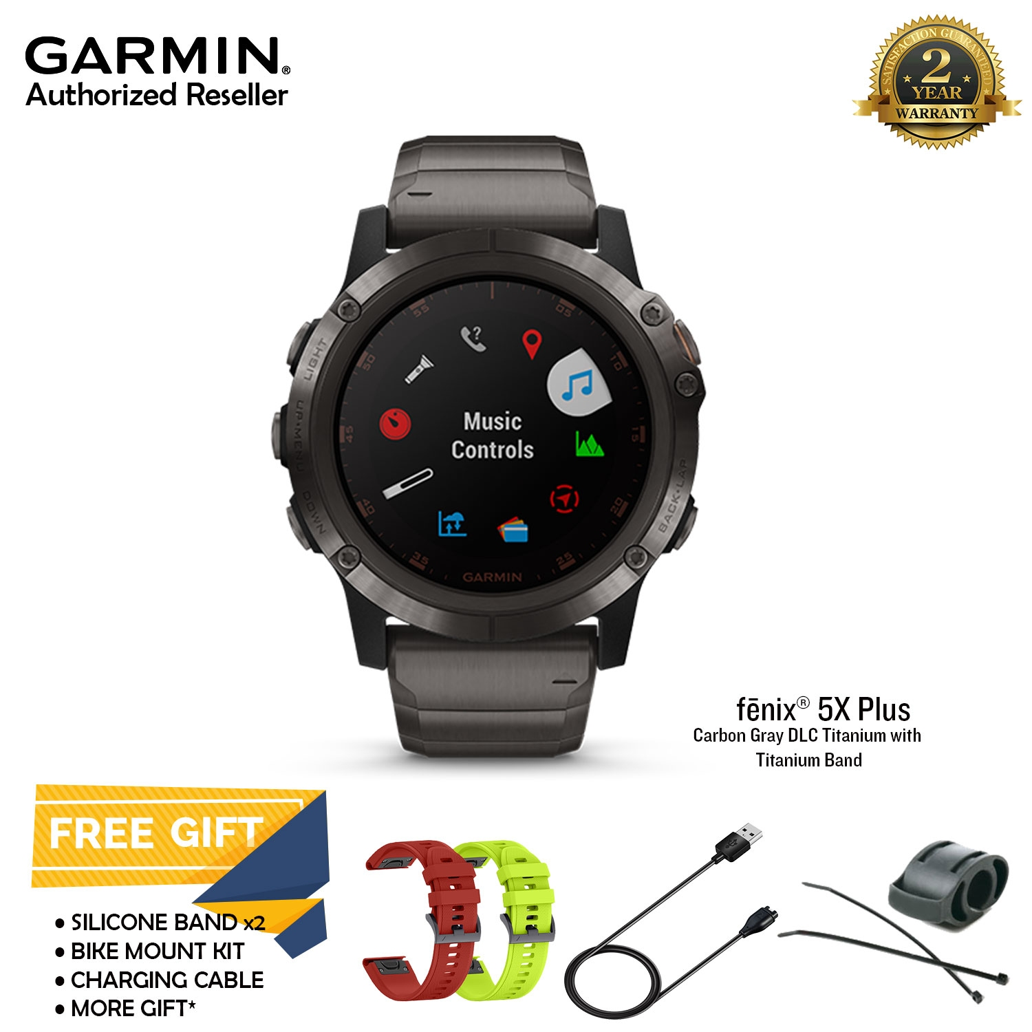 Garmin Fenix 5x Plus Gray Dlc Tita End 12 15 2020 12 00 Am