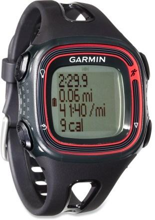 Garmin Forerunner 10 >> Garmin Forerunner 10 Gps Running Watch Black Red 010 01039 00