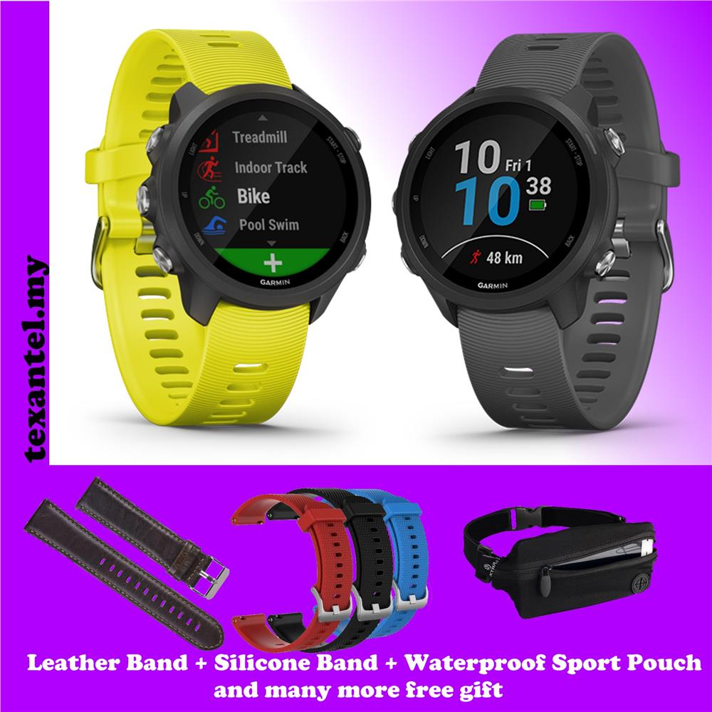 Garmin Forerunner 245 GPS Watch with 10 Free Gifts (Garmin Malaysia)
