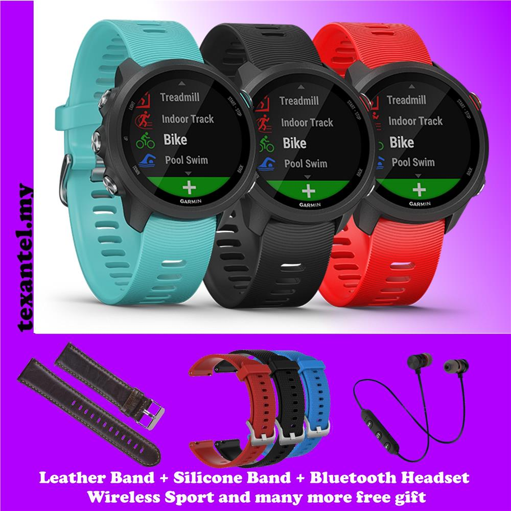 Garmin Forerunner 245 Music GPS Watch 10 Free Gifts (Garmin Malaysia)