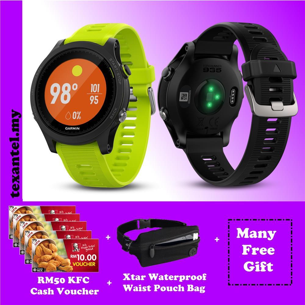 Garmin Forerunner 935 GPS Watch Free RM50 KFC Voucher & Others Gifts