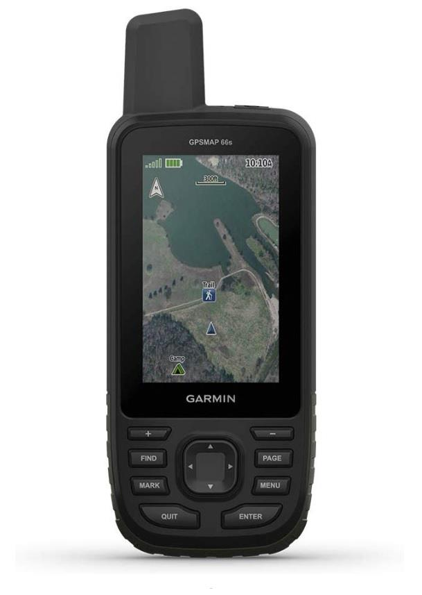 Garmin GPSMAP 66s Handheld GPS with 3 Inch Large Display