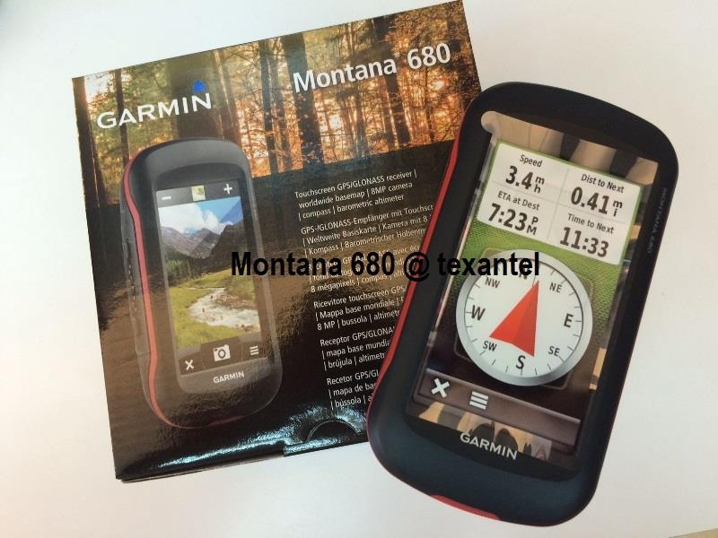 Garmin Montana 680 GPS/GLONASS Camera with Free Gifts