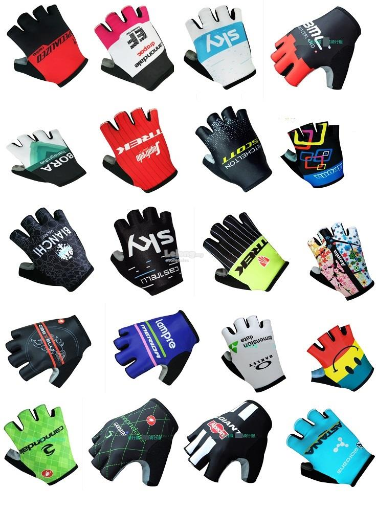 Garmin Scott Castelli Trek Half Finger Cycling Glove BIKE motorcycle