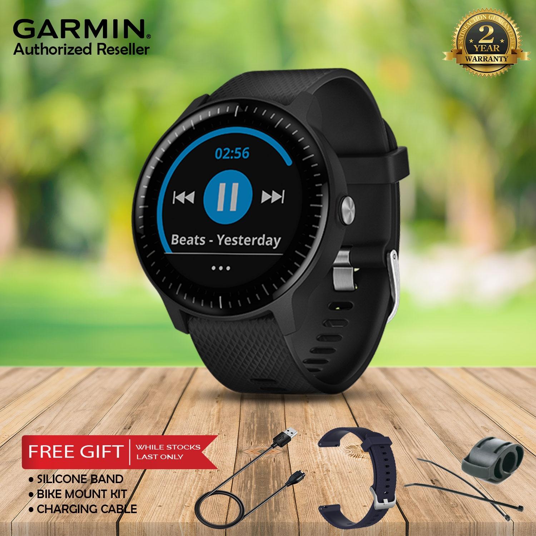 c42218530a5 Garmin Vivoactive 3 Music GPS Smartwatch with Music Storage and Playba. ‹ ›