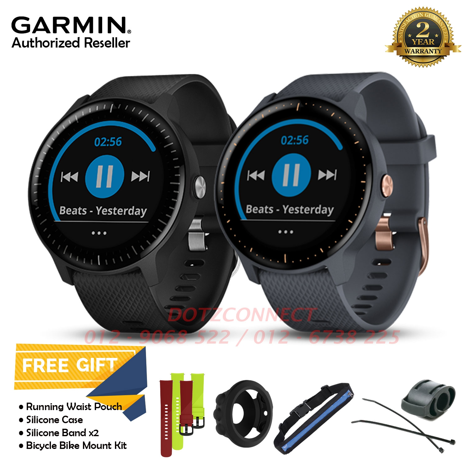 Garmin Vivoactive 3 Music GPS Smartwatch with Music Storage and Playback