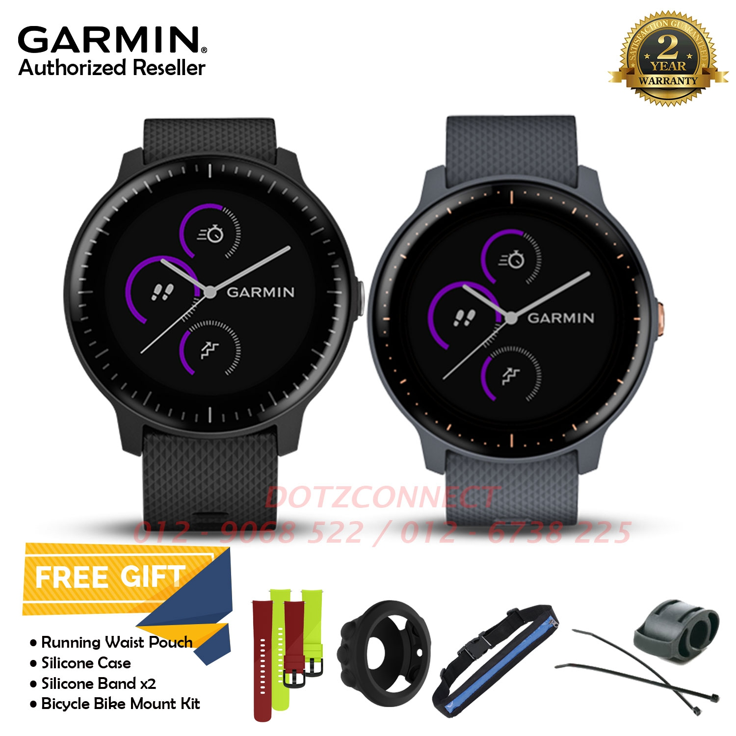 4f3b3734d4d0 Garmin Vivoactive 3 Music GPS Smartwatch with Music Storage and Playback