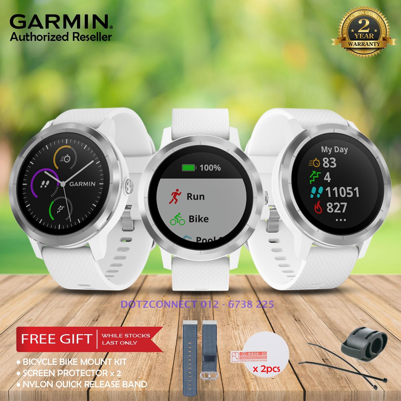 Garmin Vivoactive 3 White Stainless End 7 27 2020 6 30 Pm
