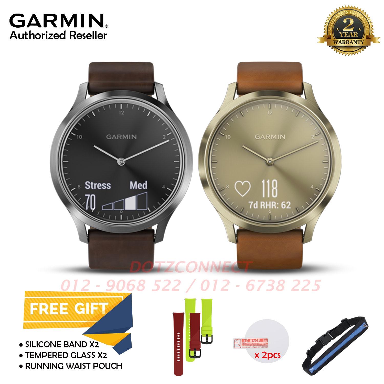 Garmin Vivomove HR Premium Smartwatch with a Discreet Display a