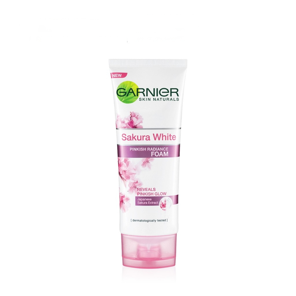 Garnier Sakura White Pinkish Radiance Gentle Cleansing Foam 100ml. ‹ ›