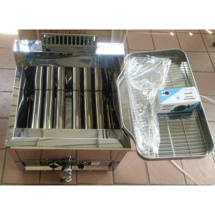 Gas deep fryer 17L Automatic temperature control