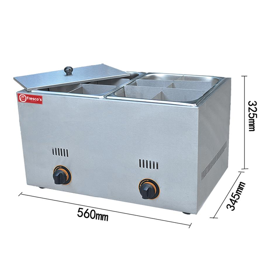 Gas Oden 12 Grids Double Tanks FR-12.R