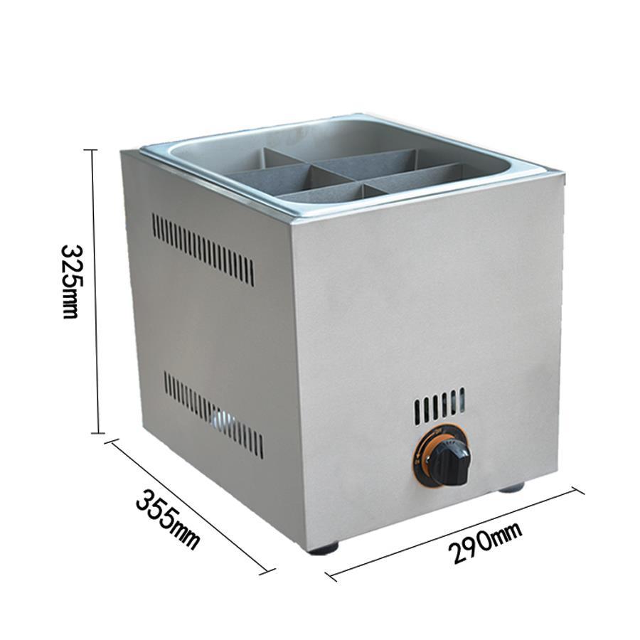 Gas Oden 6 Grids Oden Machine