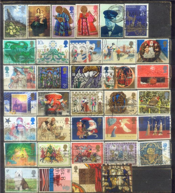 GB 35 Commemorative Stamps